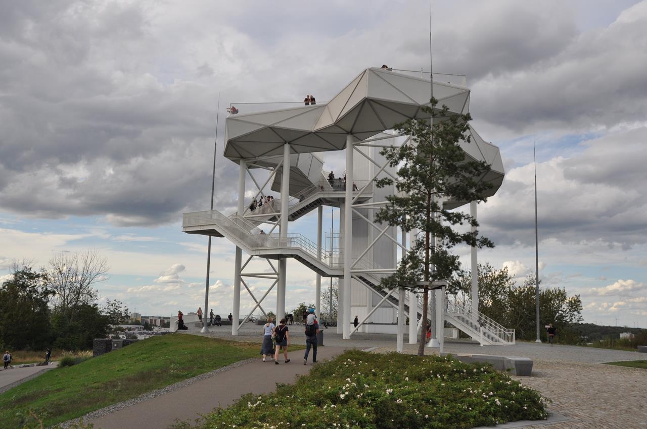 Durch Die Garten Der Welt Und Den Kienbergpark Gps Wanderatlas