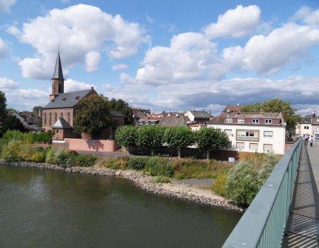 Mainspitze Rüsselsheim